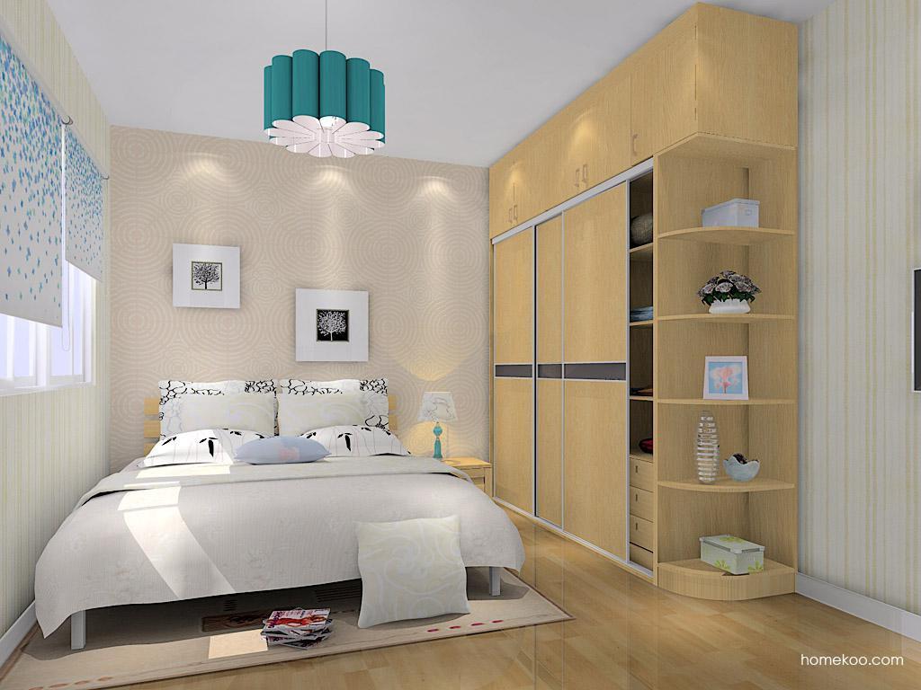 丹麦本色卧房家具A14481