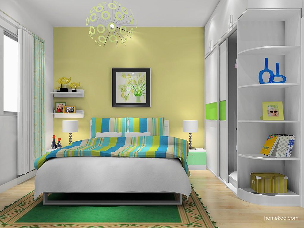 简约主义卧房家具A14549