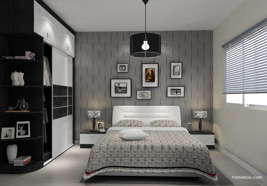 简约主义卧房家具A14563