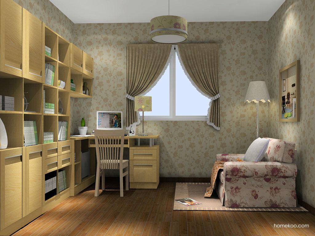 丹麦本色书房家具C14566