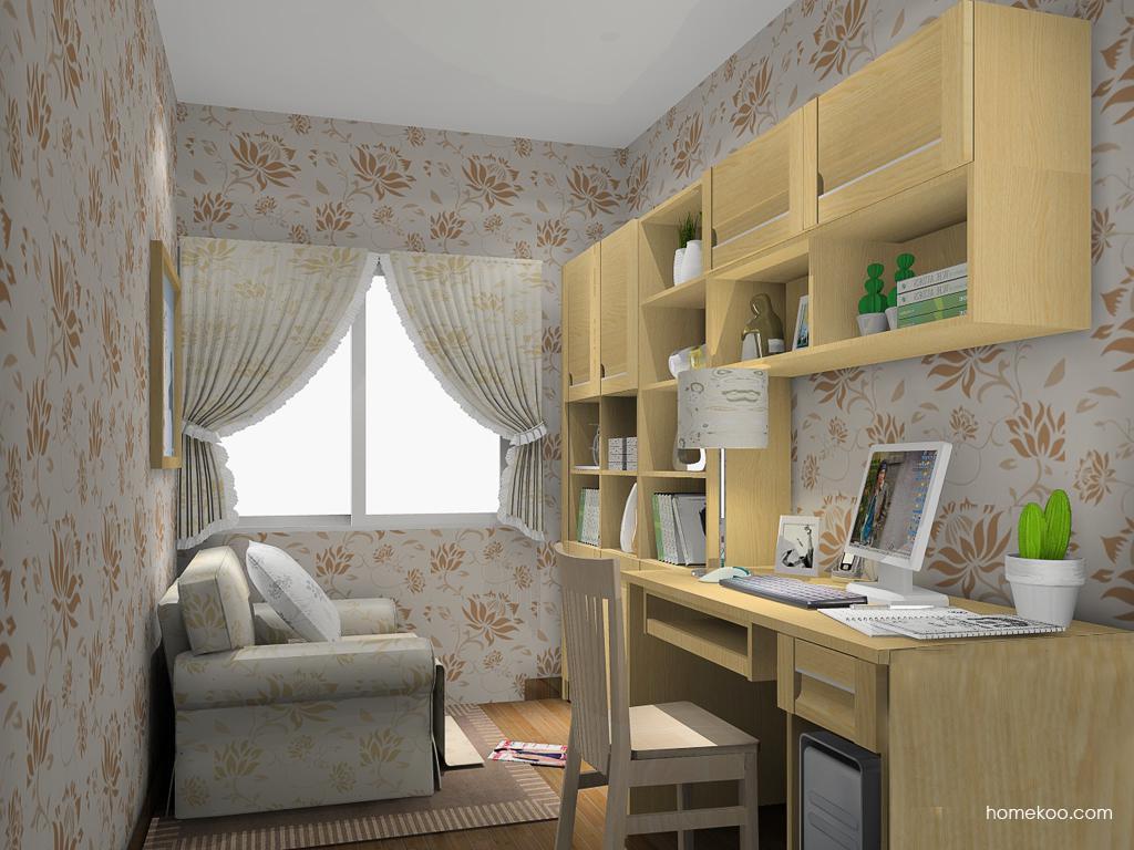 丹麦本色书房家具C14580
