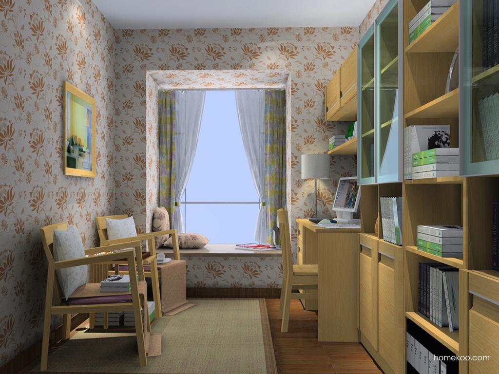 丹麦本色书房家具C14593