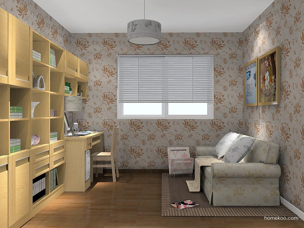 丹麦本色书房家具C14607