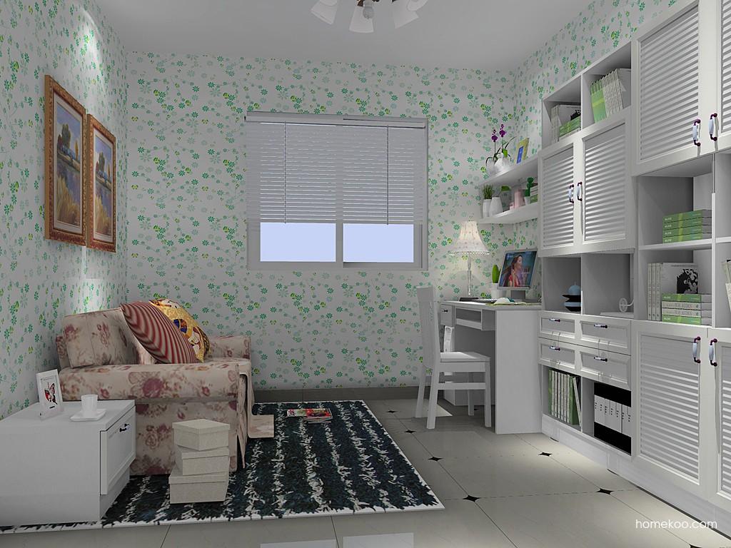 韩式田园书房家具C14652