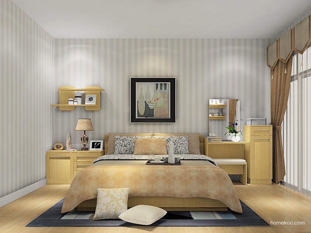 丹麦本色卧房家具A14640