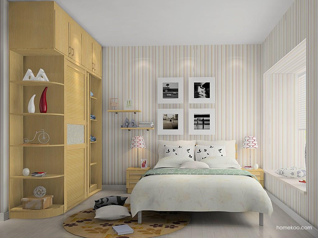 丹麦本色卧房家具A14641