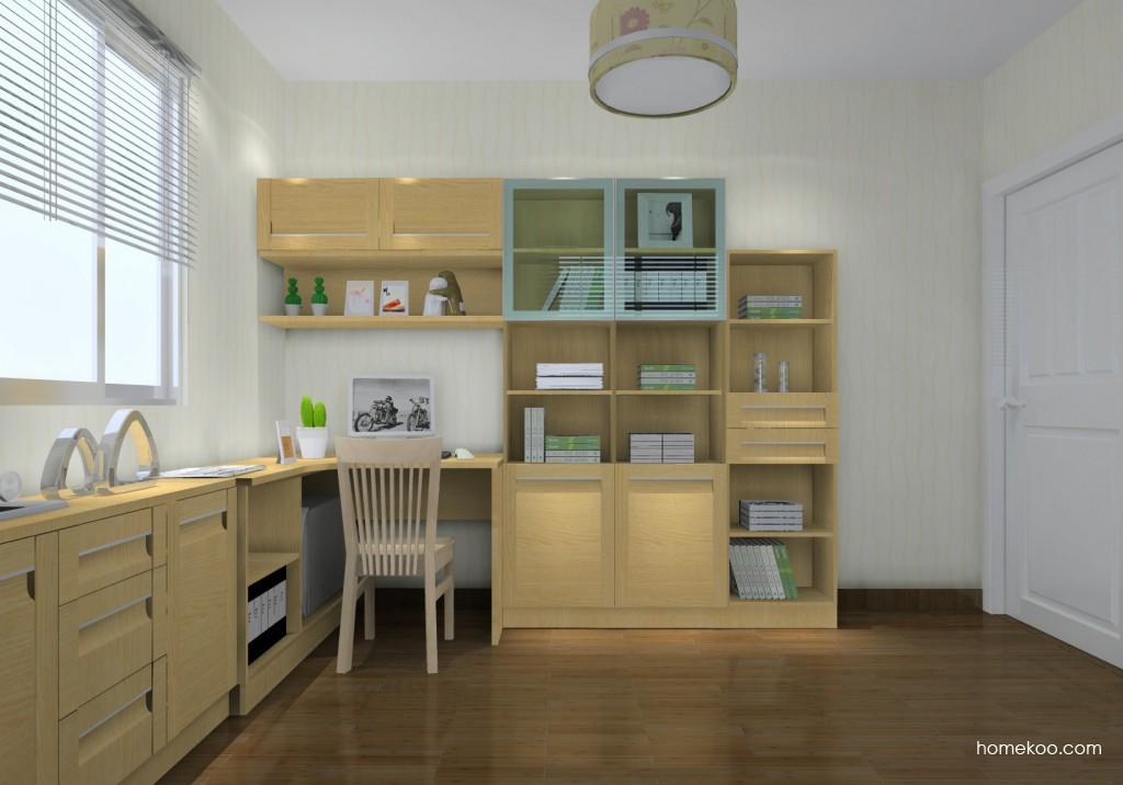 丹麦本色书房家具C14681