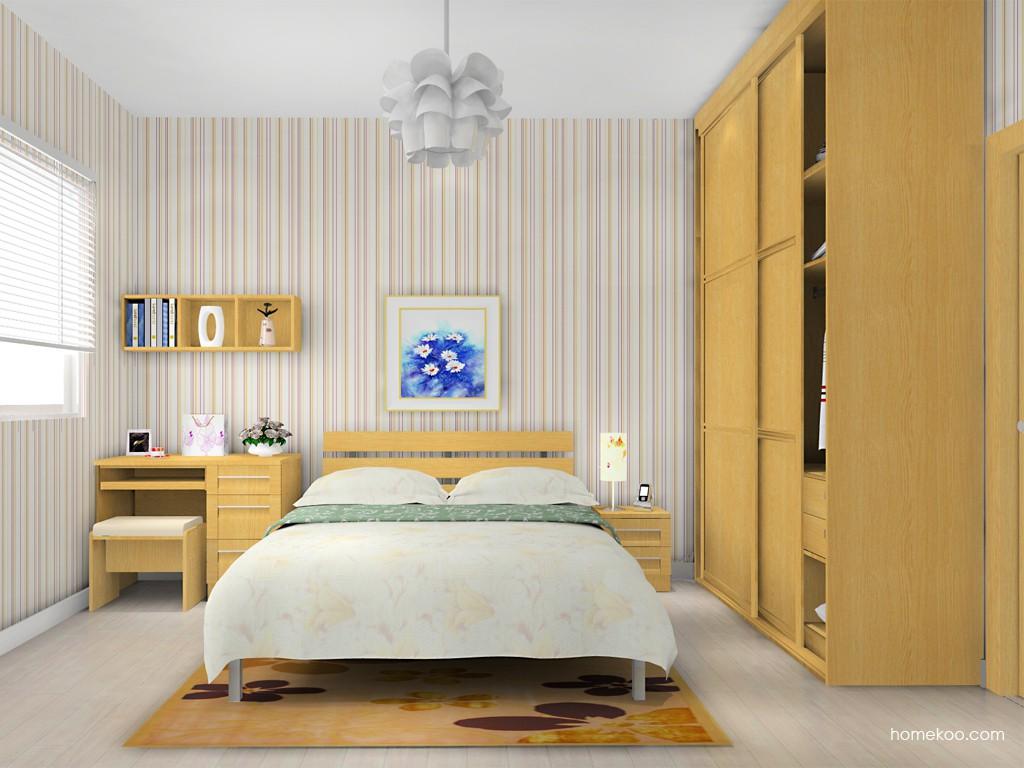 丹麦本色卧房家具A14652