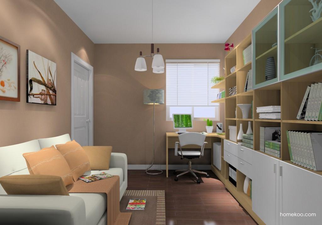 新实用主义书房家具C14688