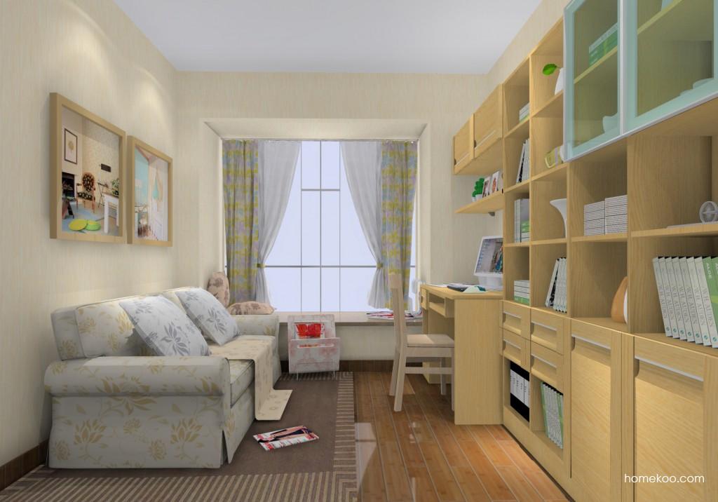 丹麦本色书房家具C14692
