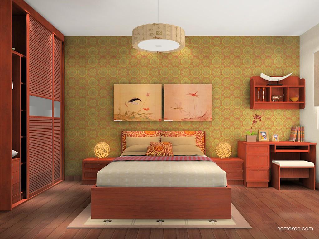 新中式主义卧房家具A14676