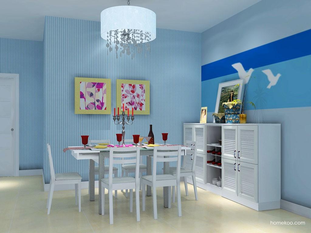 韩式田园餐厅家具E11047