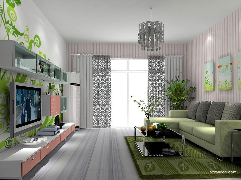 浪漫主义客厅家具D14065