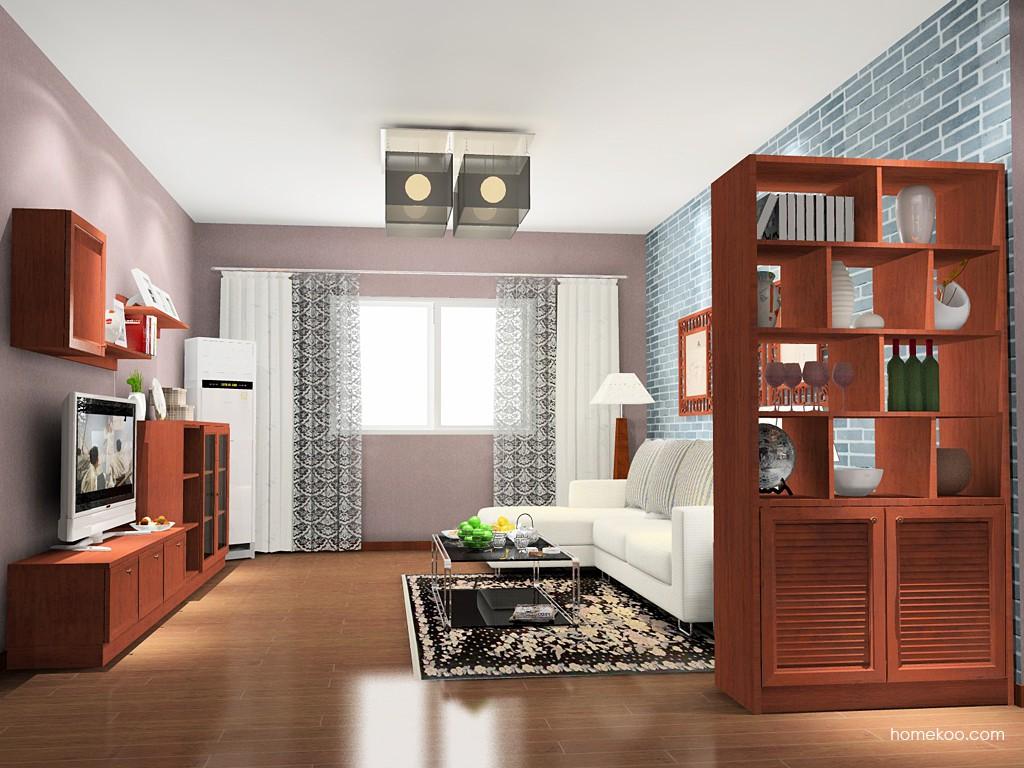 新中式主义客厅家具D14074