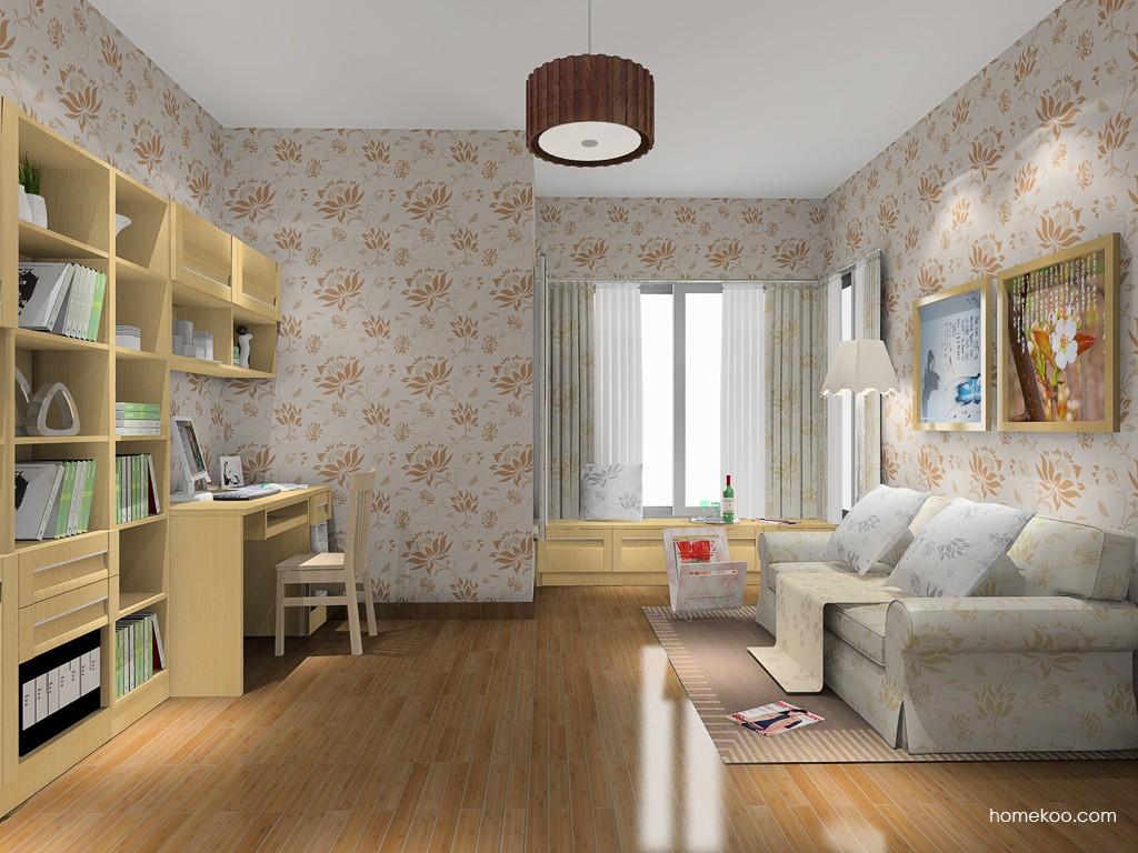 丹麦本色书房家具C14720