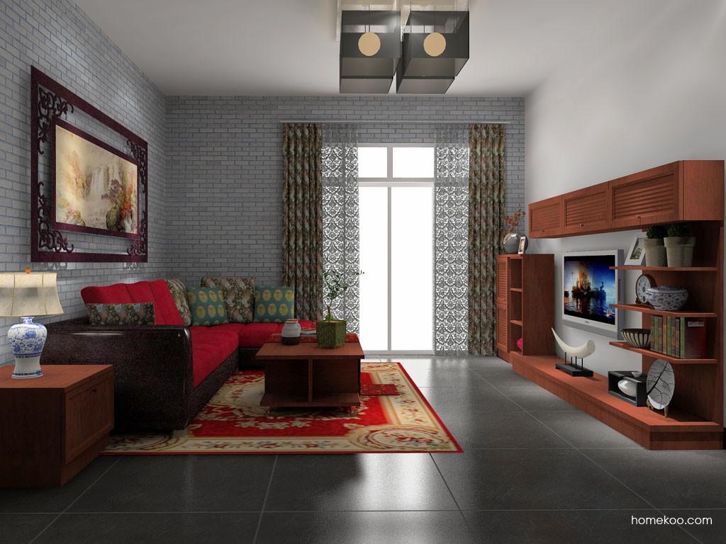 新中式主义客厅家具D14092