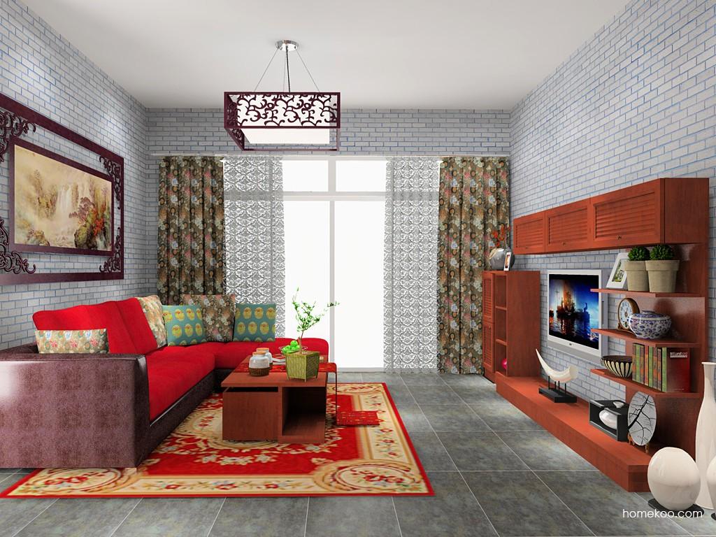 新中式主义客厅家具D14105