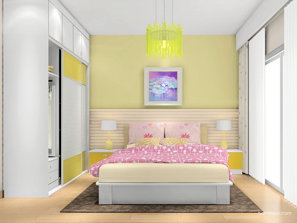 浪漫主义卧房家具A14774