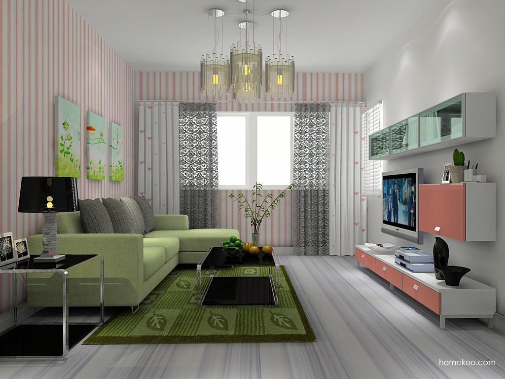 浪漫主义客厅家具D14114