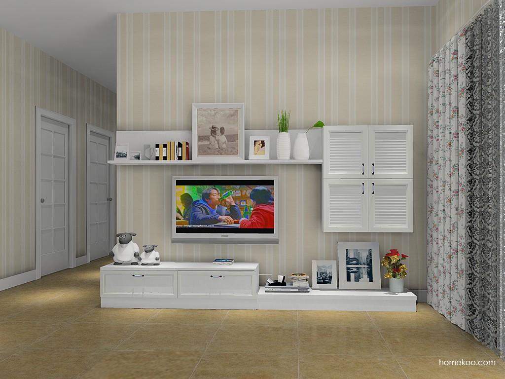 韩式田园客厅家具D14115