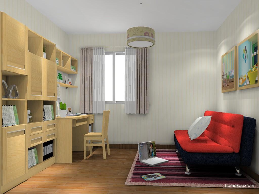 丹麦本色书房家具C14788