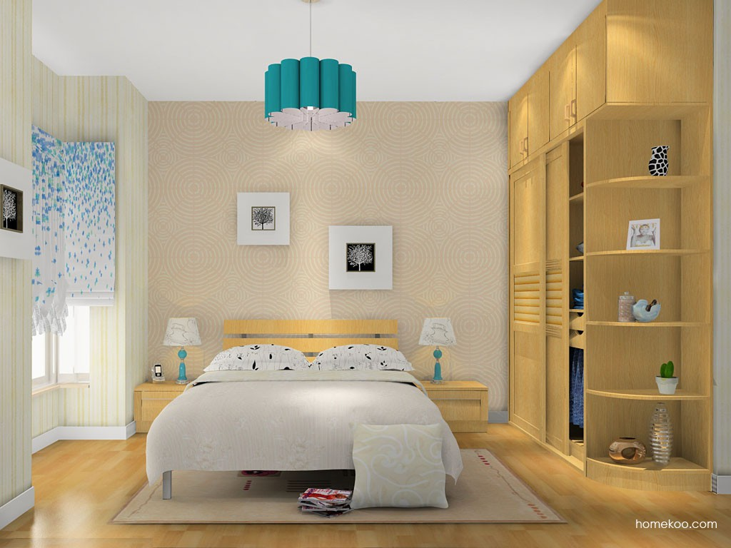 丹麦本色卧房家具A14799