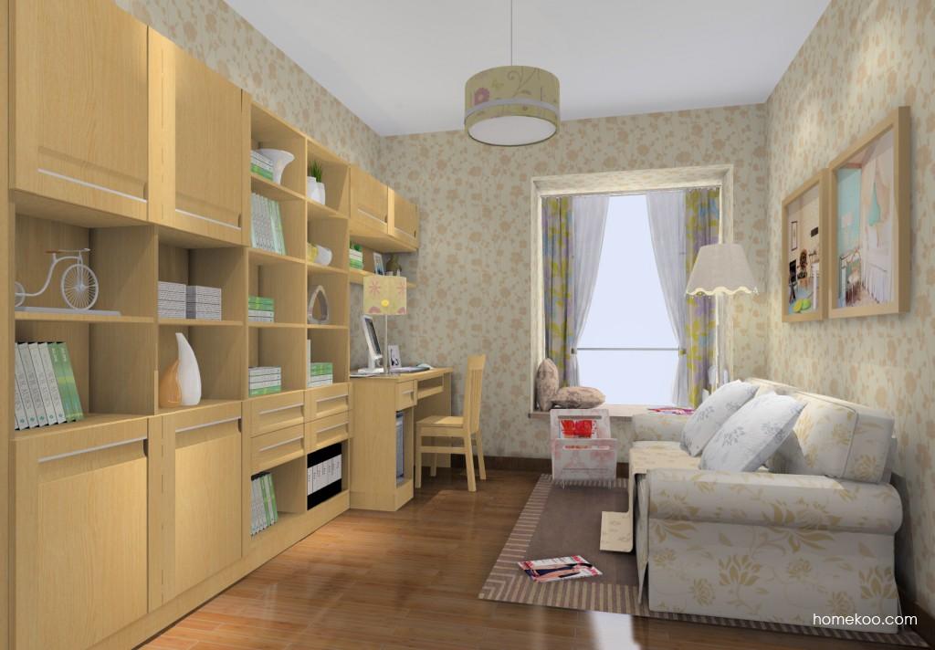 丹麦本色书房家具C14798