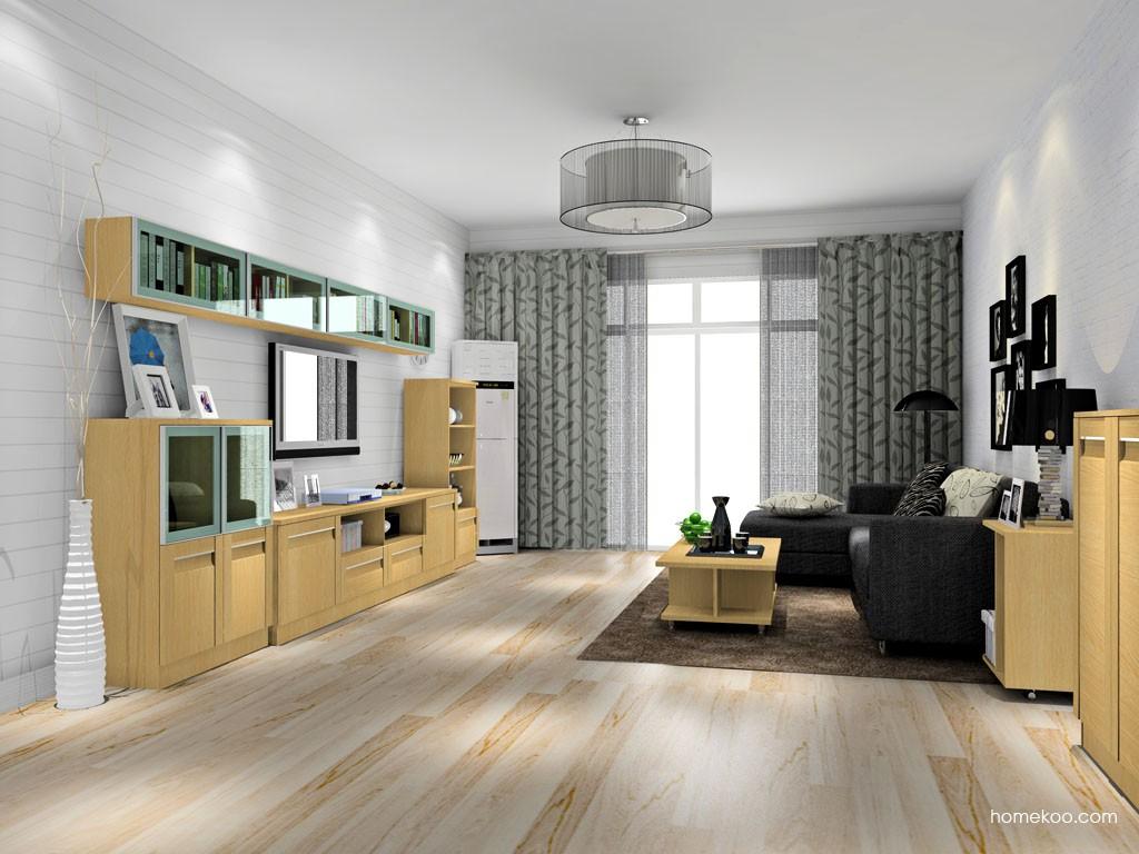 丹麦本色客厅家具D14123