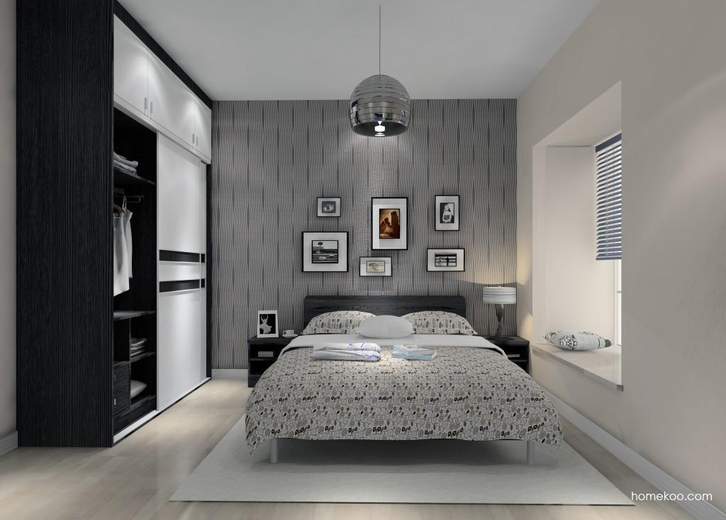 简约主义卧房家具A14807