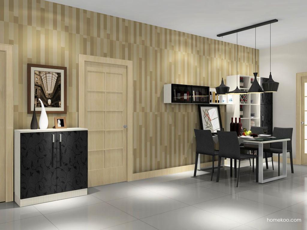 米兰剪影餐厅家具E11116
