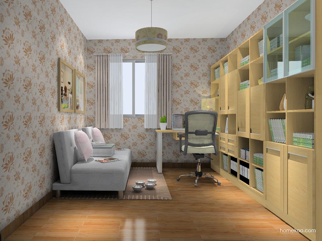 丹麦本色书房家具C14814