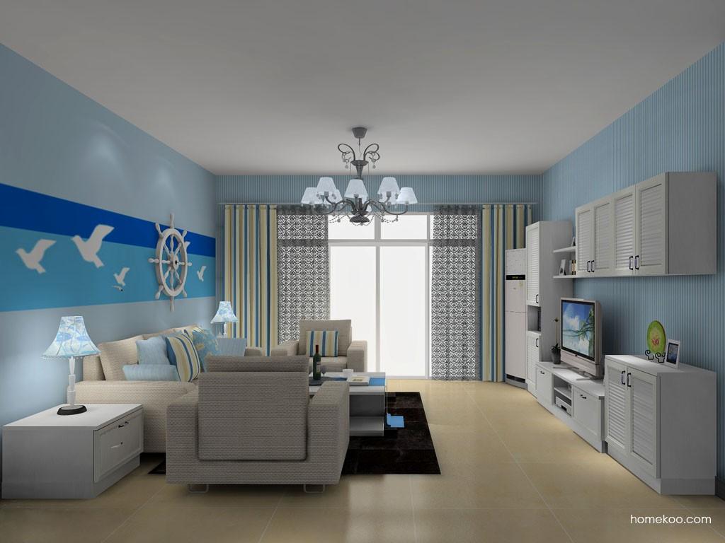 韩式田园客厅家具D14132