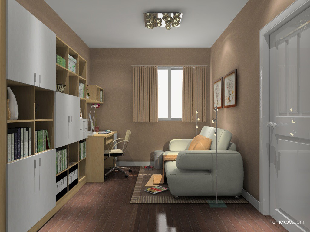 新实用主义书房家具C14836