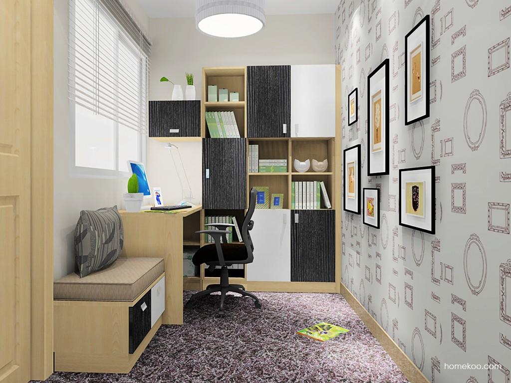 新实用主义书房家具C14841