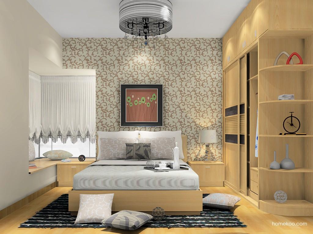 新实用主义卧房家具A14847