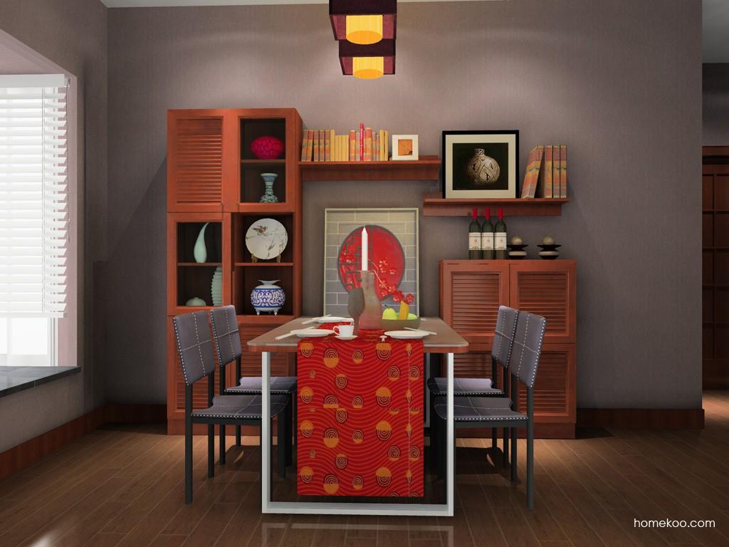 新中式主义餐厅家具E11134