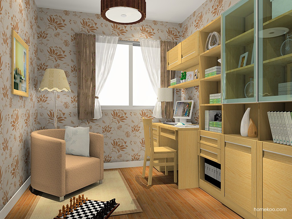 丹麦本色书房家具C14849
