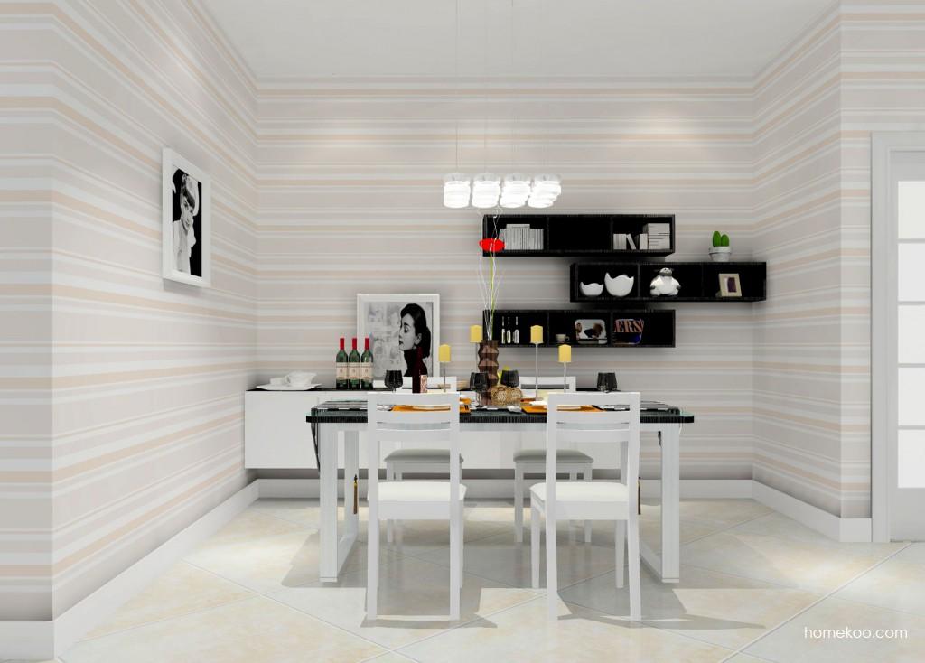 简约主义餐厅家具E11137