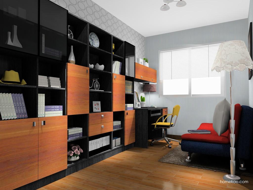 德国森林书房家具C14898