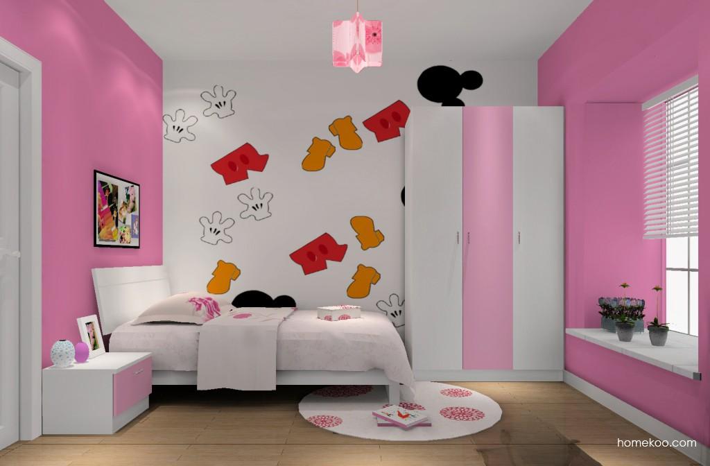 女孩的梦青少年房B12599