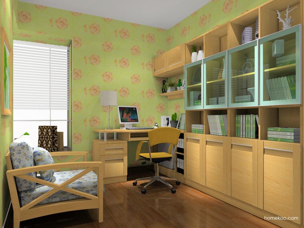 丹麦本色书房家具C14908