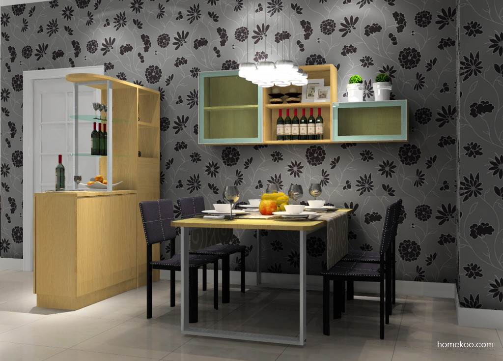 丹麦本色餐厅家具E11152