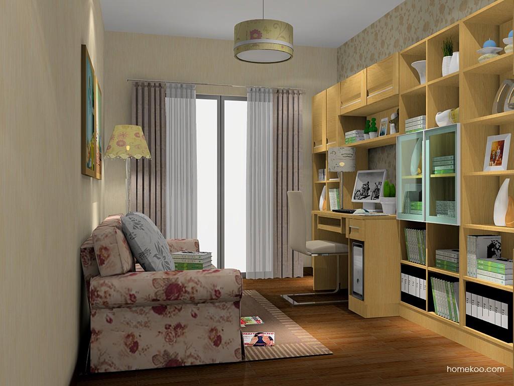丹麦本色书房家具C14910