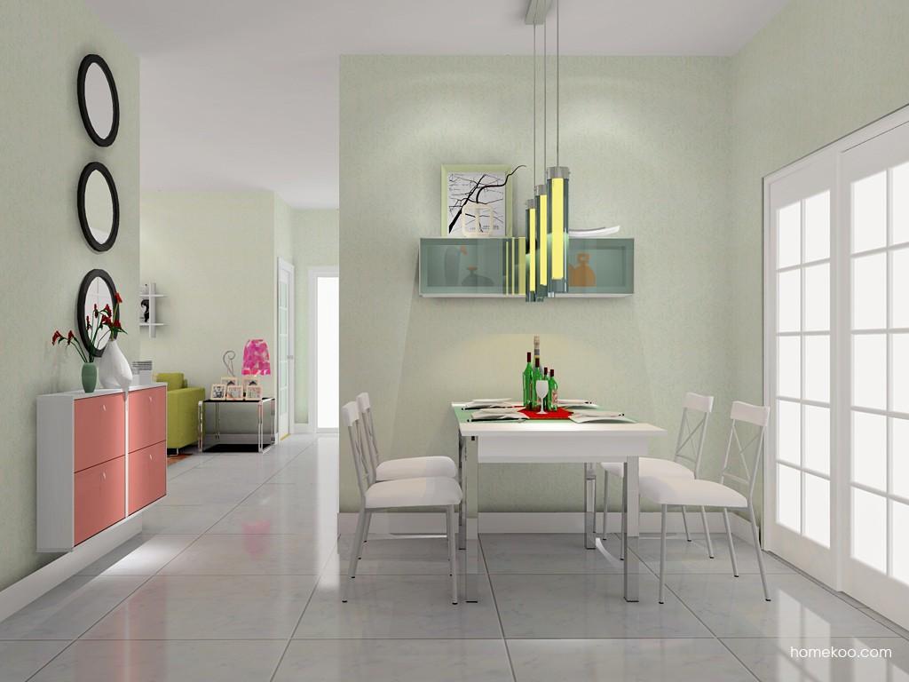 浪漫主义餐厅家具E11154