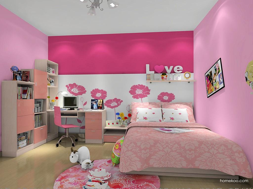 女孩的梦青少年房B12629