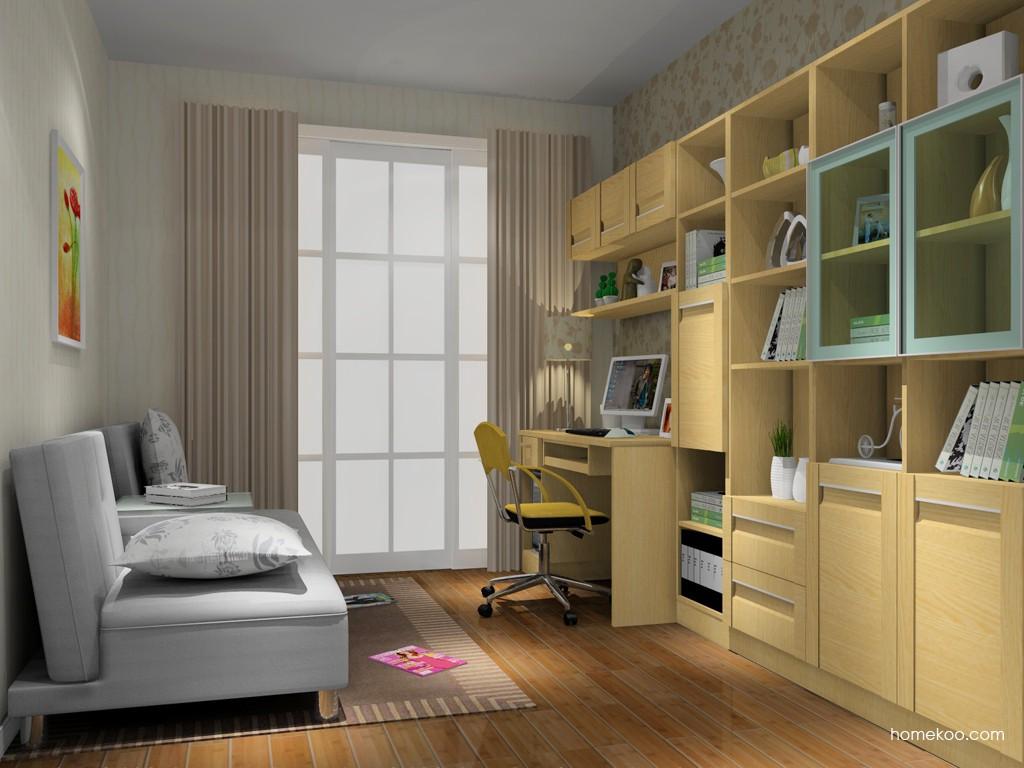 丹麦本色书房家具C14925