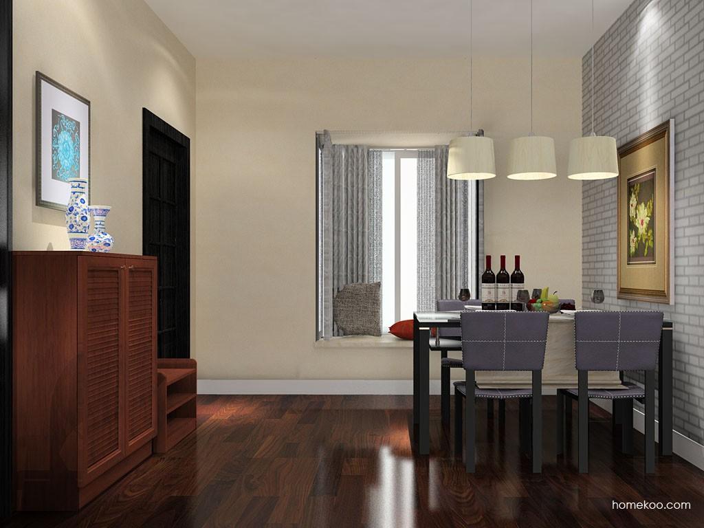新中式主义餐厅家具E11159