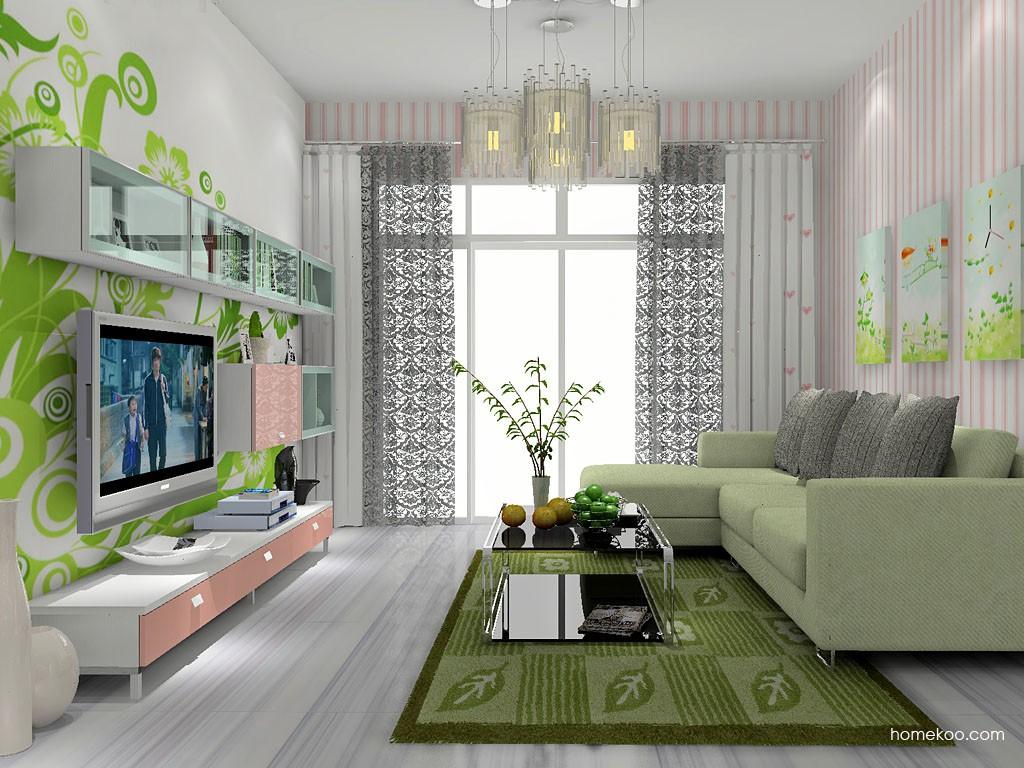 浪漫主义客厅家具D14175