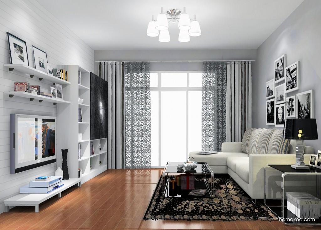 简约主义客厅家具D14178