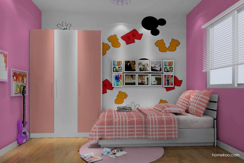 女孩的梦青少年房B12656